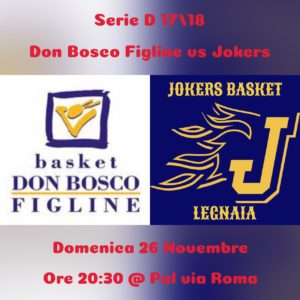 DON BOSCO FIGLINE - JOKERS BASKET @ Palazzetto Don Bosco Figline | San Giovanni Valdarno | Toscana | Italia
