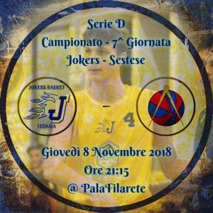 JOKERS BASKET - SESTESE 51 - 57 @ PalaFilarete | Firenze | Toscana | Italia