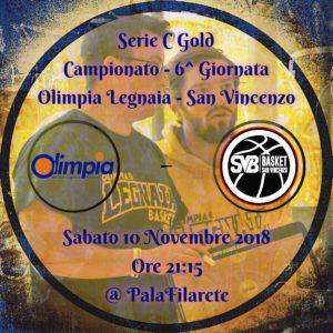 OLIMPIA LEGNAIA - SAN VINCENZO 68 - 71 d2ts @ PalaFilarete  | Firenze | Toscana | Italia