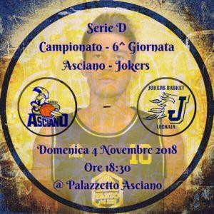 ASCIANO - JOKERS 74 - 61 @ Palazzetto Asciano | Asciano | Toscana | Italia