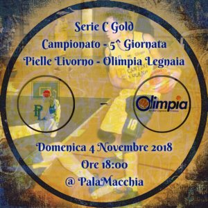 PIELLE LIVORNO - OLIMPIA LEGNAIA 70 - 65 @ PalaMacchia | Livorno | Toscana | Italia