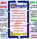 CENTRI ESTIVI 2019 – OLIMPIA LEGNAIA