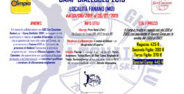 CAMP GIALLOBLU 2019 – OLIMPIA LEGNAIA x SAN CASCIANO