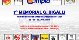 7° MEMORIAL BIGALLI – 26/27/28 APRILE 2019